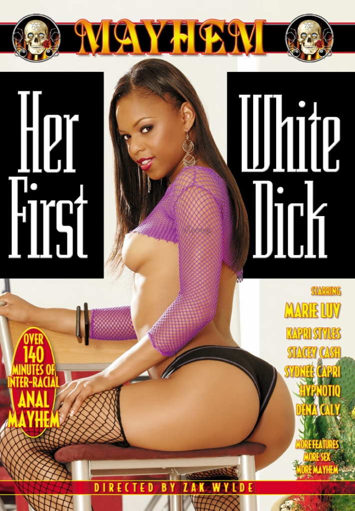 Her 1st White Dick