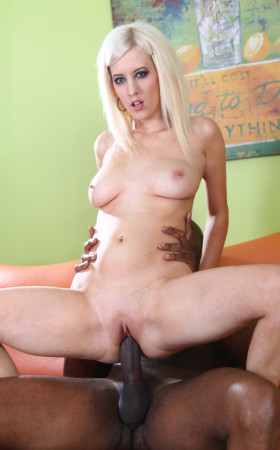 Cherry Torn Is A Nasty Lil� White Girl That Goes Bananas Over Chocolate Dongs