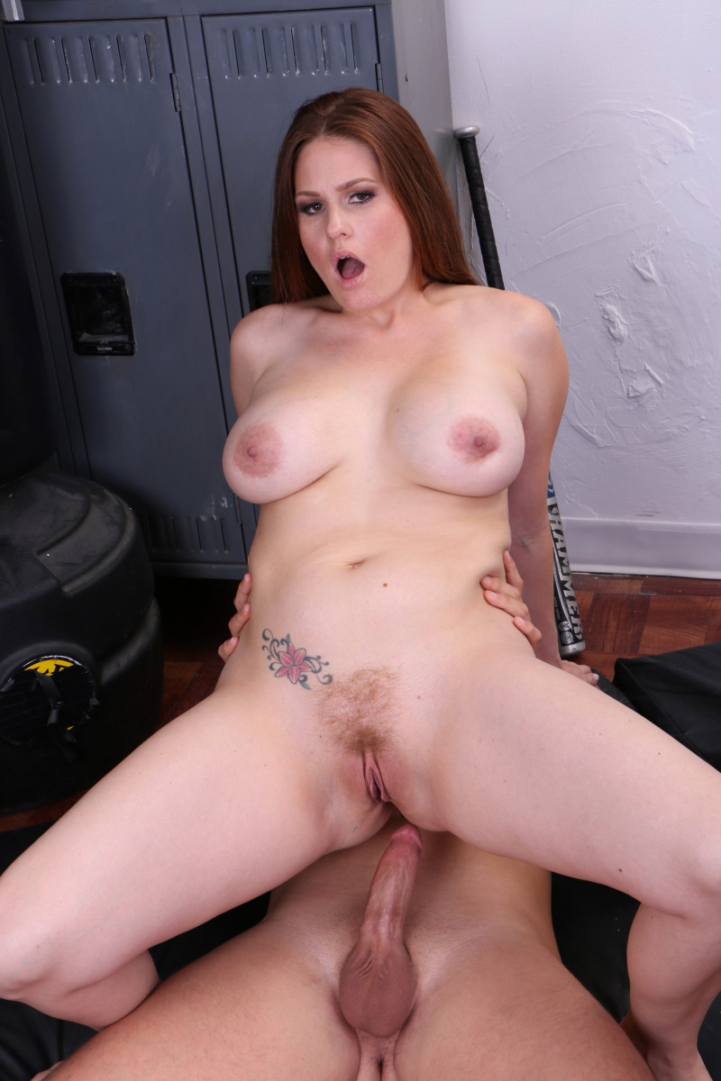 New Mom Allison Moore Gets Milf Pussy Pumped Full Of Stepson's Creamy Cum