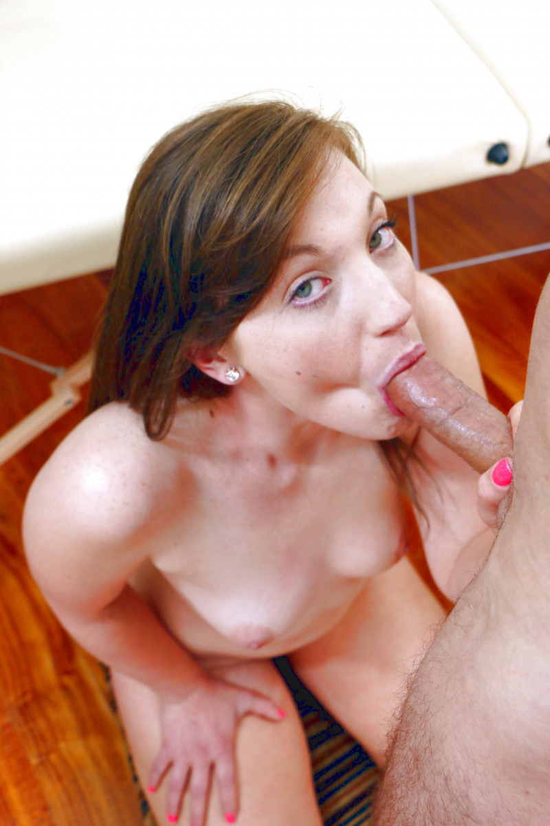 Taylor Madison Learns How To Deepthroat Cock In 69 Position
