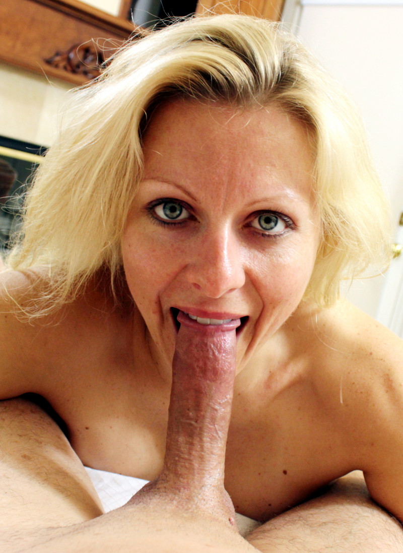 Zoey Tyler Is A Hot Blonde Milf Who Loves A Good Throatfucking