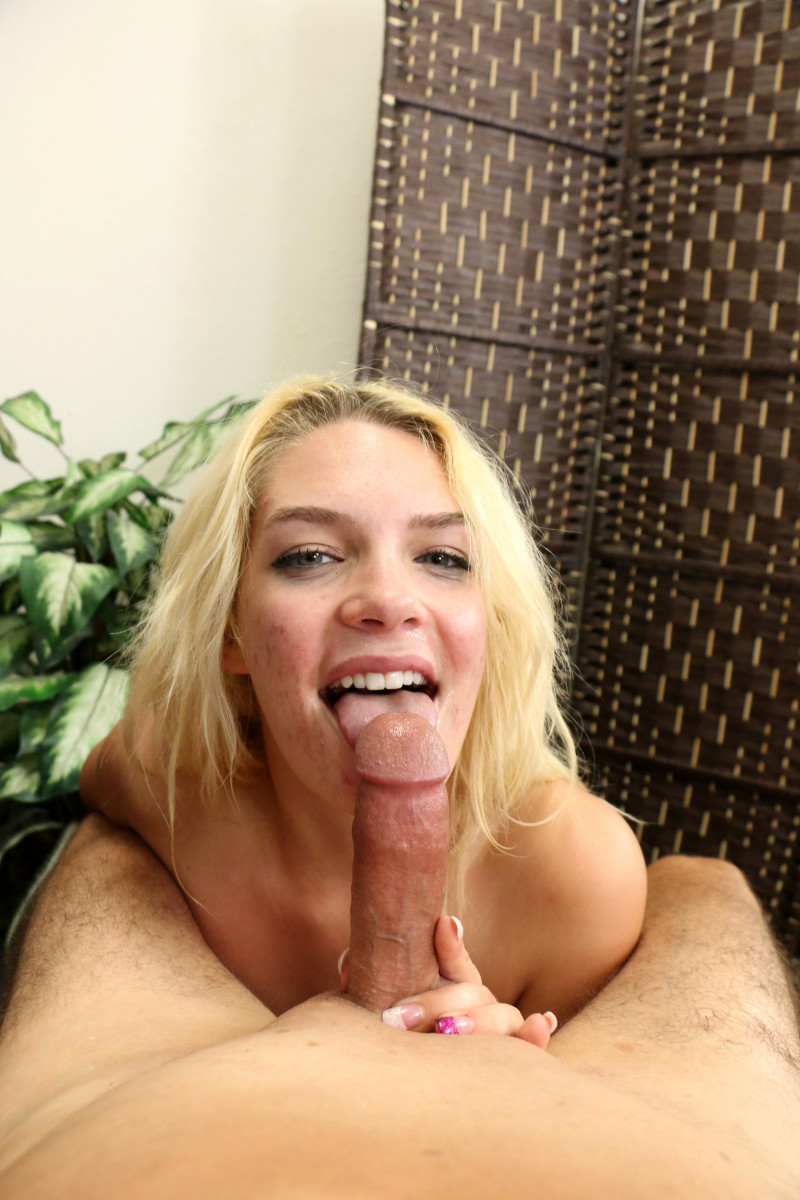 Blond Party Chick Ally Brooks Likes To Suck And Swallow