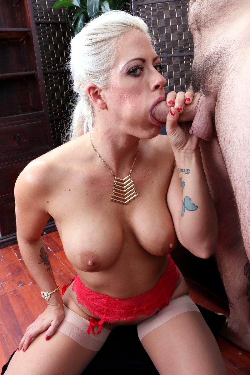 Holly Heart Gives A Hardcore Blowjob Full Of Ball Tugging And Biting!