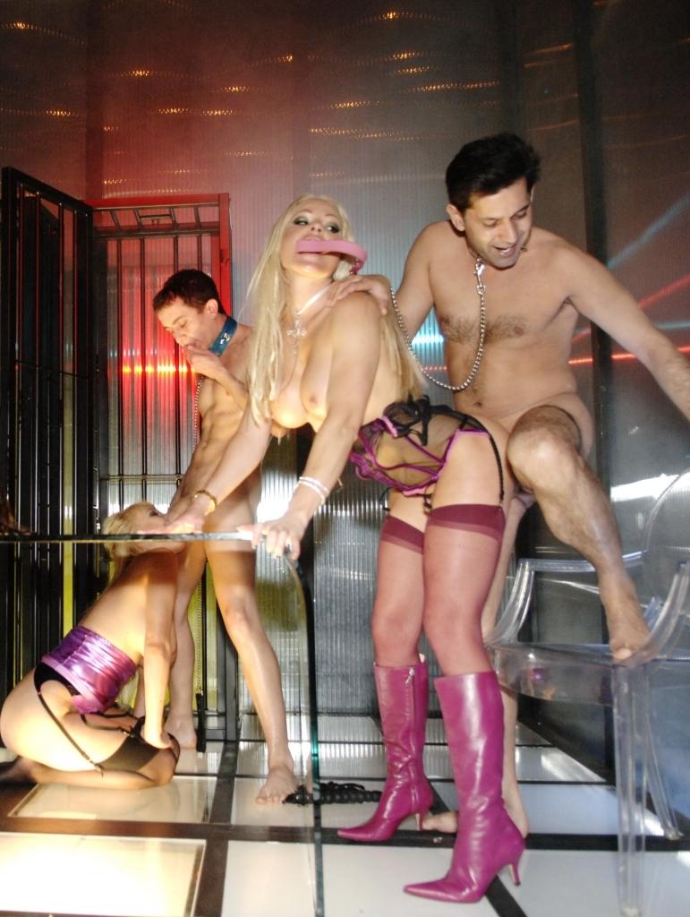 Eva Angelina Has Hot Orgies In Her Neon Dungeon